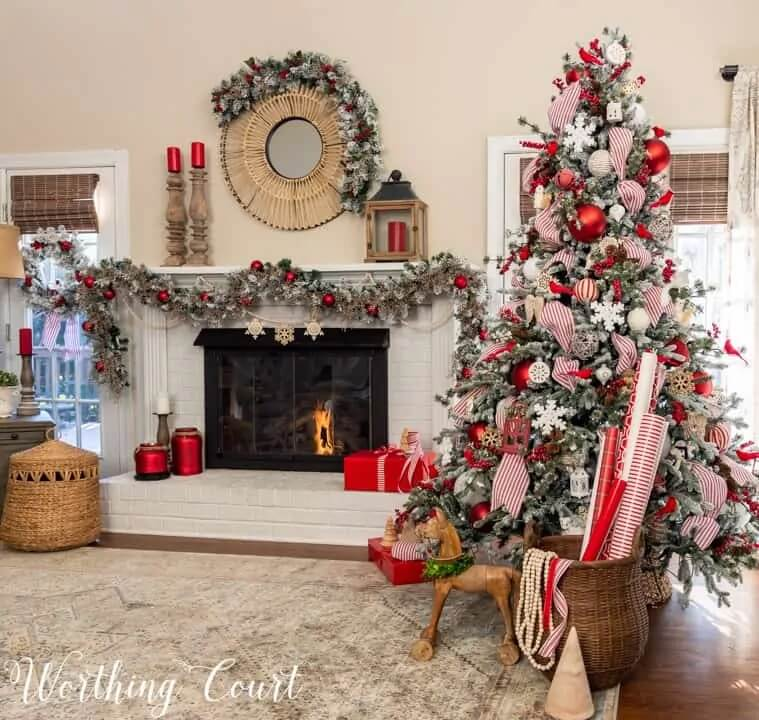 Worthing Court Blog - Christmas Color Schemes Traditional
