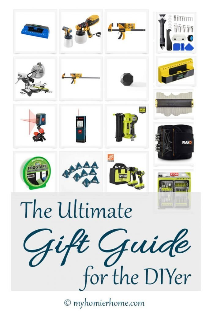 This is literally the ultimate gift guide for any DIYer, both new and veteran. If you're looking for gift ideas for the DIYer, this is the post for you. Read more in this blog post.