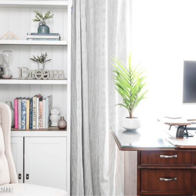 Home Office Craft Room Reveal with Before and Afters