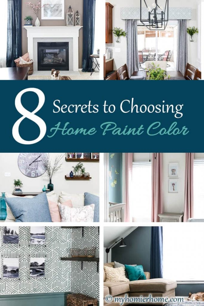 Worried about making the wrong decision on paint color for your home? Here are 8 must read secrets to choosing home paint colors.