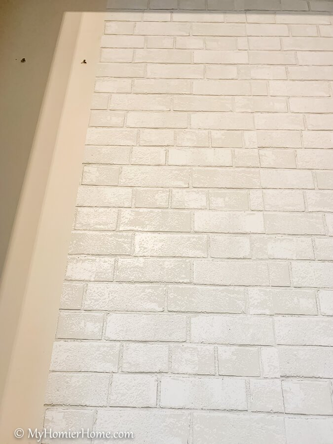 When it is not a perfect fit, you may have to cut a piece to size or wrap it around the wall.
