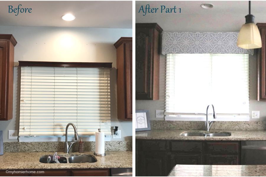 Kitchen makeover? Yes, please! Unlimited budget? I wish! With some intentional choices and a breakdown of manageable phases, I was able to get exactly what I wanted without overwhelming myself or my budget. I am so excited to share with you this fun transformation from a 90's traditional kitchen to my fresh take on traditional-meets-modern kitchen makeover. When you're ready for your own kitchen makeover, don't forget you can change a space dramatically one step at a time!