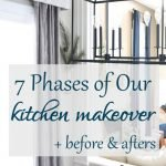 Kitchen makeover? With intentional choice, get what you want without overwhelming your budget. Make big change by completing your project over time!