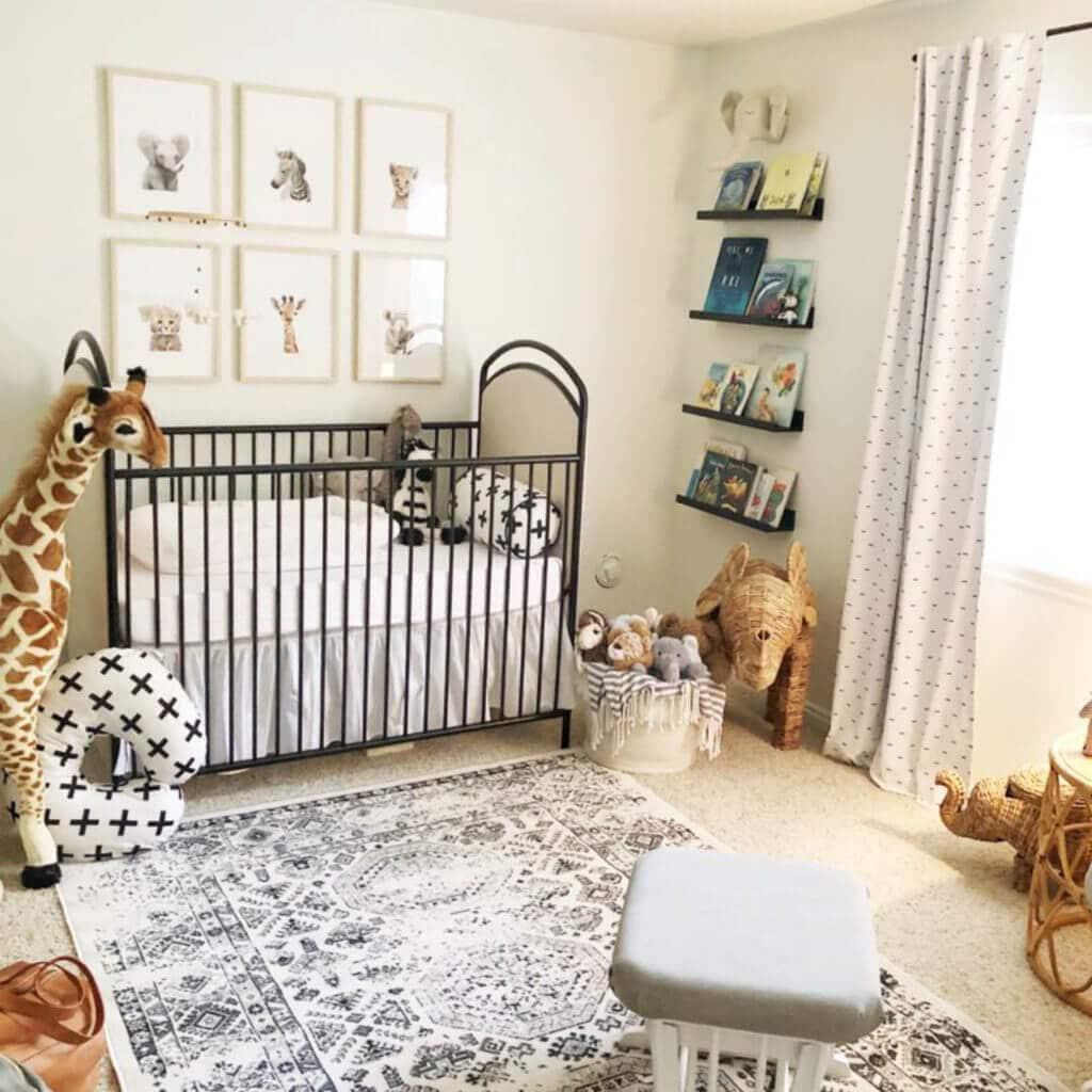 Project Nursery has a ton of safari nursery ideas